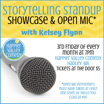 Storytelling Standup Showcase - 3rd Friday of every month